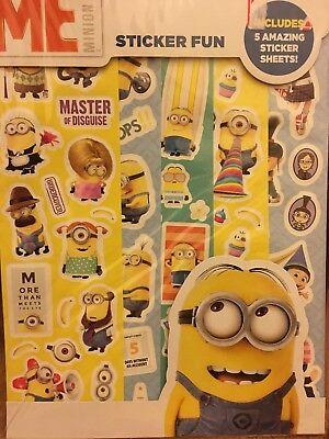 Despicable Me Stickers, BRAND NEW!!! Minions