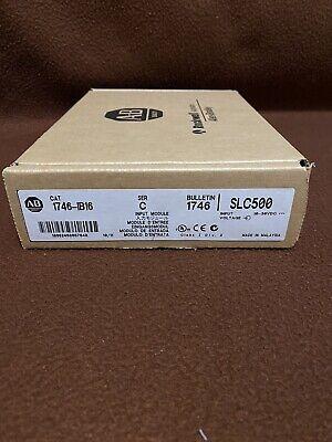 New Factory Sealed Allen Bradley 1746-ib16 Input Module Serc Plc Module Slc500