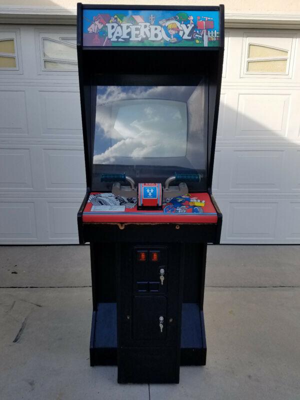 Atari Paperboy Arcade Video Game