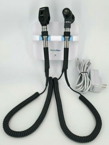 Welch Allyn GS 777 Diagnostic Set MacroView Otoscope Coaxial Ophthalmoscope