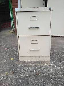 Two (2) drawer filing cabinet West Ryde Ryde Area Preview
