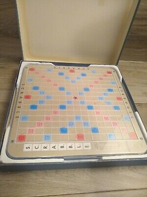1977 Scrabble Deluxe Edition Replacement Revolving Turntable TWO Boards