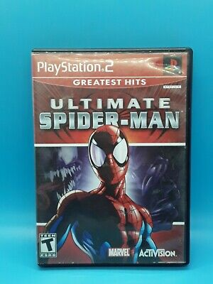 Ultimate Spider Man Sony PlayStation 2  2005 PS2  Greatest Hits