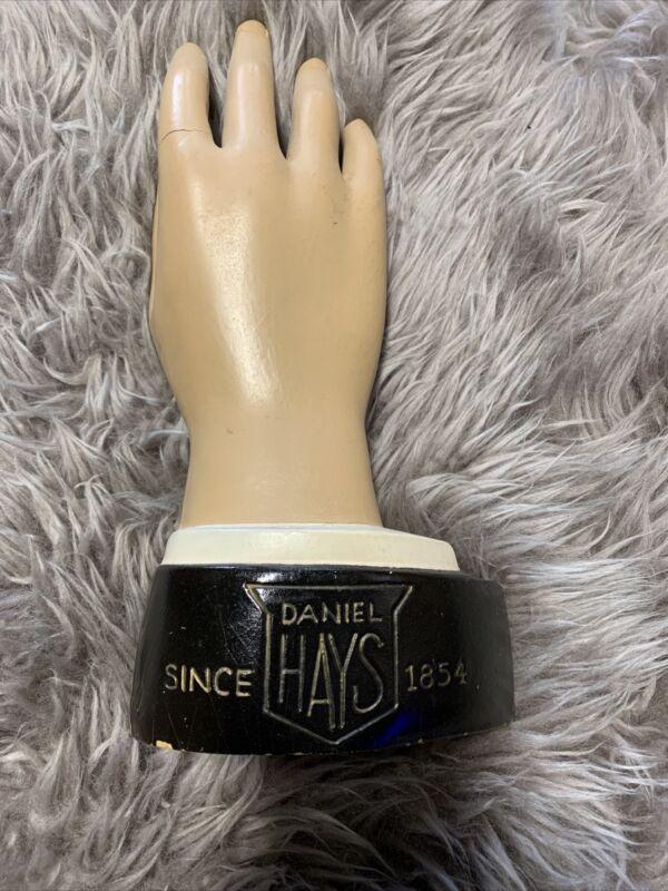 Vintage Hand Glove Advertising Display  For Daniel Hays Department Store