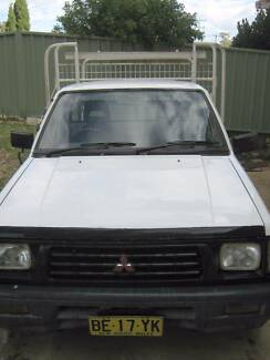 1996 Mitsubishi Triton Ute Balcolyn Lake Macquarie Area Preview
