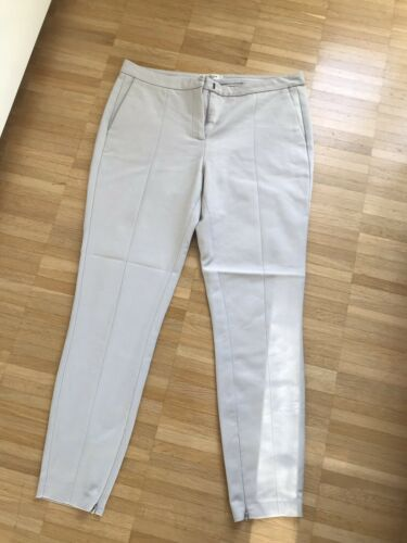 Selected Femme SMUSE Hose Stoffhose Chino Jeans Creme Beige Gr. 40 L