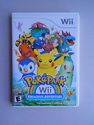 PokePark Wii: Pikachu's Adventure Game Complete! Nintendo Wii - Pikachu Game