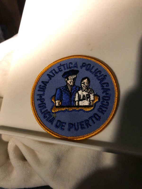 Puerto Rico Police Patch