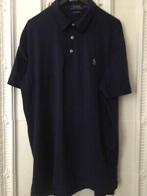 Polo Ralph Lauren Original Poloshirt, Performance, dunkelblau, Gr. L, neuwertig online kaufen