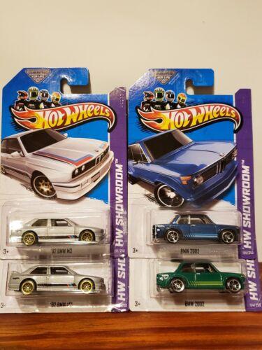 Lot 2013 Hot Wheels #154 - BMW 2002 - HW Showroom 92 M3- Asp