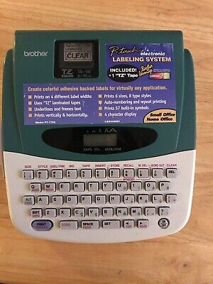 Brother P-touch 1700 Label Thermal Printer - Tested