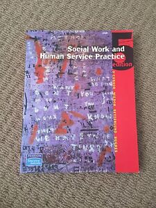 Text book - Social Work and Human Service Practice (5th ed) Yeronga Brisbane South West Preview