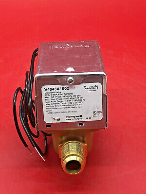 Honeywell V4043a1002 Flare Connection Motorized Zone Valve 12 120 Volts