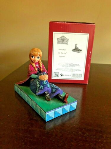 "Disney Traditions Jim Shore Anna Personality Pose ""Be Daring"" Figurine"