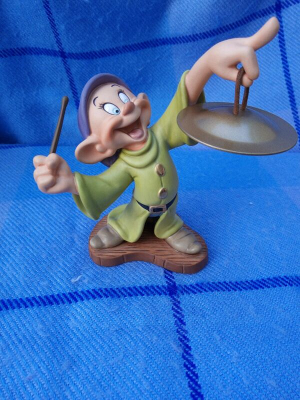 WDCC   Dopey with Cymbal   Snow White & Seven Dwarfs