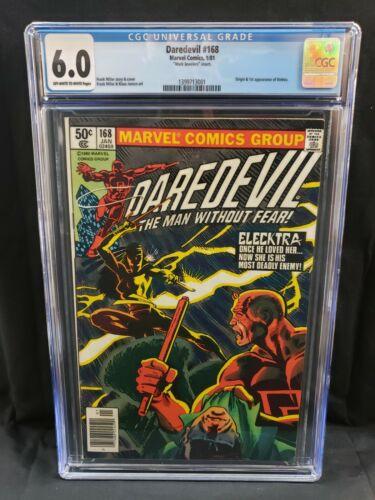 Daredevil #168 CGC 6.0 1st Appearance and Origin of Elektra