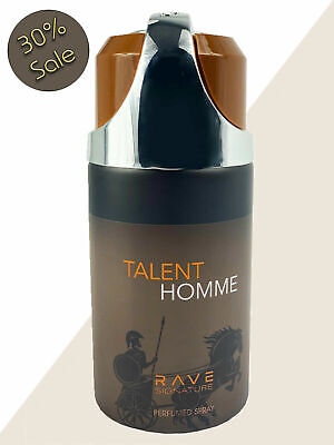 Handsome Talent Homme Mens Perfume 250ML, Agarwood Aroma, Rave Signature