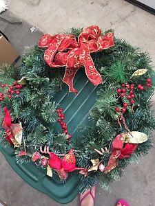 Large Christmas Wreath $5