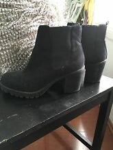 Black Boots • Size 7 • Miss Shop Woolooware Sutherland Area Preview