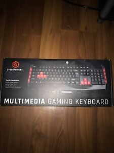 cyber power gaming keyboard and mouse