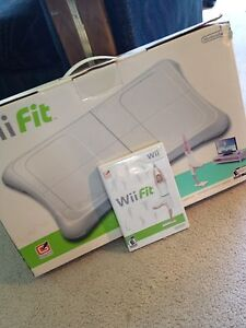 Wii and wii fit board/game