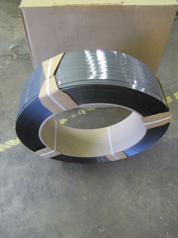 "SIGNODE SDM 2040 HG PLASTIC STRAPPING BANDING 5/8"" WIDTH 4200"