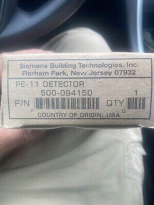 Siemens Pe-11 Fire Alarm Fireprint Smoke Detector New