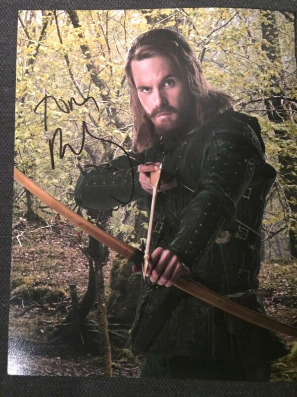 Doctor Who Tom Riley Autographed Signed 11x14 Photo COA