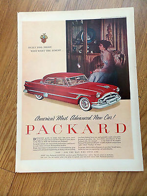 1953 Packard Clipper Ad Americas Most Advanced New Car