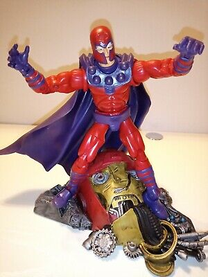 TOYBIZ Marvel Legends 2003 Series III 3 MAGNETO w/ SENTINEL BASE 100% COMPLETE
