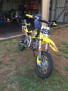 YCF 125 travis pastrana special edition Emerald Central Highlands Preview