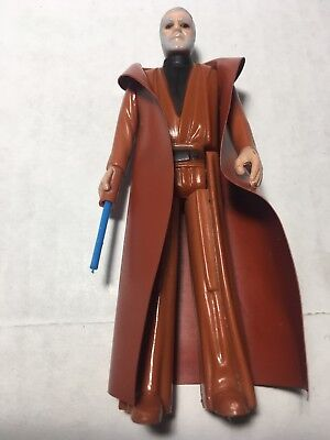 Vintage 1977 STAR WARS OBI-WAN KENOBI Cape and Telescoping Light Saber