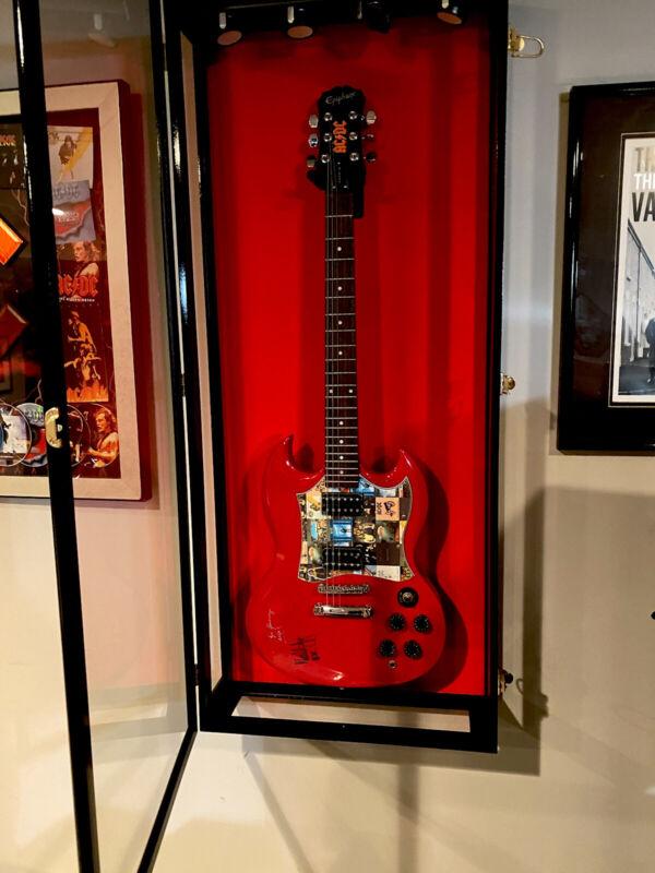 AC/DC Autographed Guitar