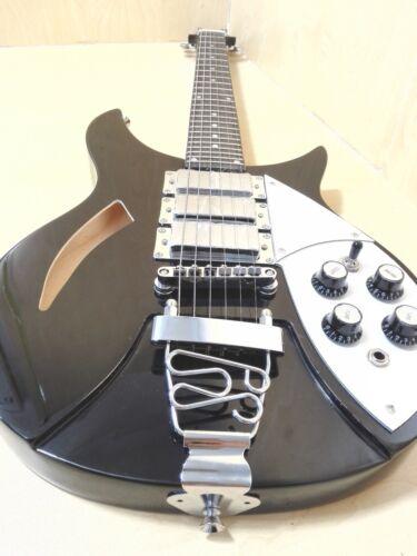Haze Semi-Hollow Body Electric Guitar,H-H-H,Black+Free Gig Bag,3 Picks HSRC 1930