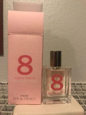 A&F Abercrombie & Fitch 8 Always Pretty Perfume HTF Discontinued 1.0oz/30mL