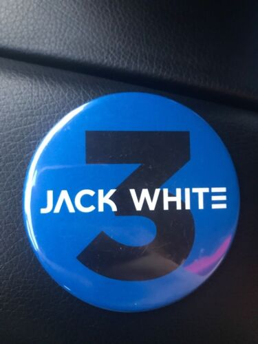 JACK WHITE OFFICIAL BOARDING HOUSE REACH TOUR MAGNET 2018 CONCERT THIRD MAN III