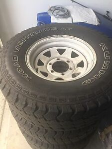 "For sale is 31"" kumho AT road venture x 4 Cranbourne East Casey Area Preview"