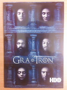 GAME OF THRONES - HBO Polish promo FLYER (#3) - <span itemprop=availableAtOrFrom>Gdynia, Polska</span> - GAME OF THRONES - HBO Polish promo FLYER (#3) - Gdynia, Polska