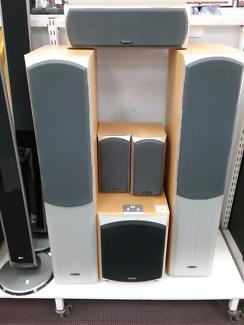 Speaker Set of 6 DB Dynamics Polaris Series ii #96594