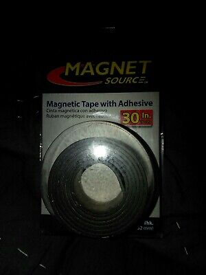 Magnet Source Magnetic Tape With Adhesive 6 Pk