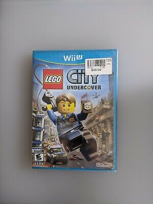 LEGO City Undercover Nintendo Wii U *Factory Sealed!