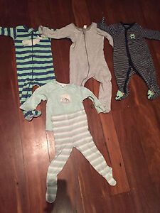 Baby clothes 6-12 sleepsuits pure baby Subiaco Subiaco Area Preview