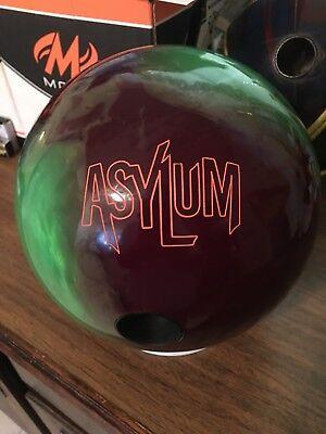 15# Roto Grip Asylum Bowling Ball, Used, Exc
