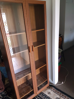 NEAR NEW  HALL DISPLAY CUPBOARD Gorokan Wyong Area Preview