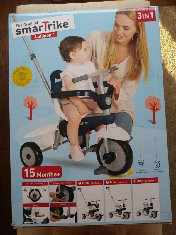 The Original Smart Trike 3 in 1. 15months & older. **Please see pics for details