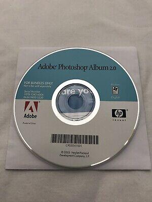 Adobe Photoshop Album 2.0 Software CD