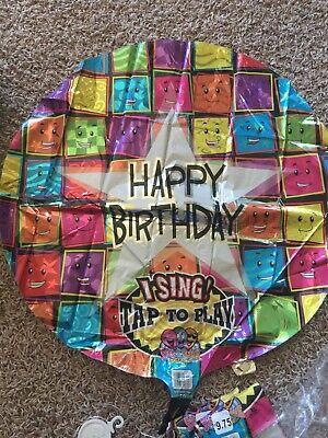 "Anagram 28"" Singing Happy Birthday Balloons (Singing Birthday Balloons)"