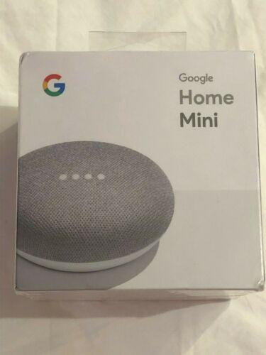 Google Home Mini Chalk Color - (Factory Sealed Box)
