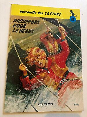 Bd La Patrouille des Castors N°21 Passeport pour le néant E.O.3è Tr.1979 TBE