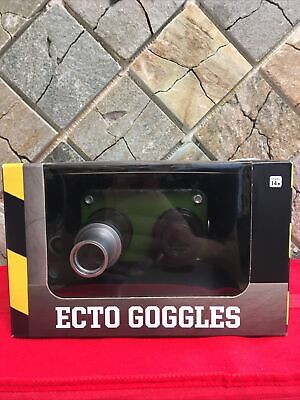 Ghostbusters Ecto Goggles Spirit Halloween Officially Licensed Light- Up